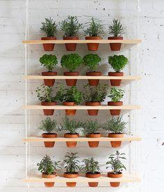 DIY : Hanging Herb Garden That Brings The Outdoors In - 101 Gardening