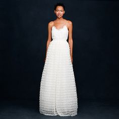 This Ribbon-Laced Skirt Pair | 36 Ultra-Glamorous Two-Piece Wedding Dresses