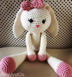 Bunny Clo by MatAndClo on Etsy