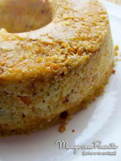 Torta Rápida de Legumes e Queijo no Microondas, clique na imagem para ver essa receita no Manga com Pimenta.
