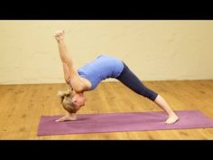 Humble Warrior Pose is one of my favorite asanas recently. Here is a short flow, leading up to the shoulder opening Humble Warrior.    Awsome Yoga Instuctor!