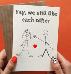 Valentines Day Card For Him, Boyfriend Valentines Card, Husband Valentines Card, £2.70