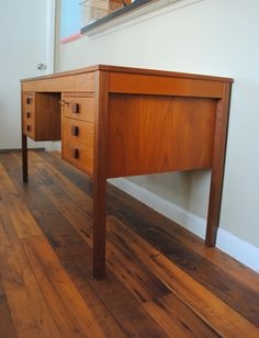 Domino Mobler Teak Desk ...I just picked one up for free on Craigslist!