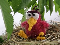 Amigurumi Crochet Pattern Rosie the Raven van IlDikko op Etsy Raaf
