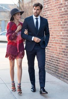 Olivia Palermo and Johannes Huebl's Street Style Looks  #InStyle