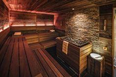 Professionelle Design-Sauna im Vier Jahreszeiten Hotel Hamburg. (De corso sauna manufaktur gmbh)