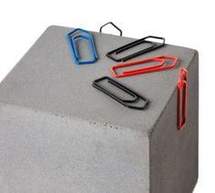 """Ein magnetische """"Block"""" aus Beton von Korn Produkte. Coole Idee :) #handmade #beton #KornProdukte"""