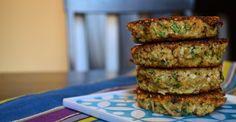 Basil Quinoa Cakes. Yummy way to use quinoa
