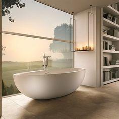 Bordi Mini - Fritstående badekar i smukt minimalistisk design