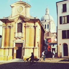 What I loved about #Mantua? Well, that there are almost no tourists ;) - Instagram by travelita