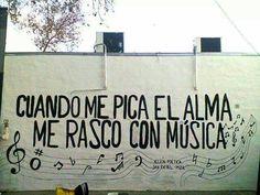 Cuando me pica el alma, me rasco con música ¡Buenas noches!