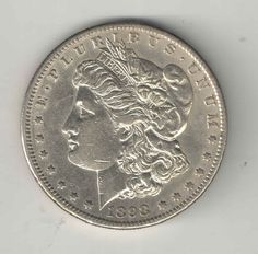 1898 S Morgan Silver Dollar $1.00 Coin United States - Key Date - You Grade It!