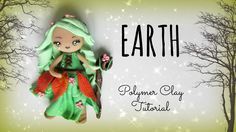 A great, simple polymer clay chibi earth fairy tutorial that would make a great craft night with the kids.