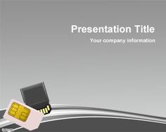 free memory card powerpoint template background for presentations with curve and memory cards - 45 In Business Presentations All Background Artwork Should Be Experience
