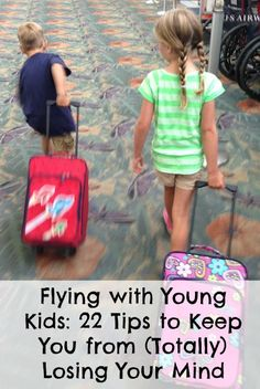 Tips for flying with kids || travelling with children