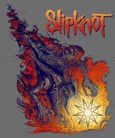 Slipknot Merchandise Graphic by Eli Quinn on CreativeAllies.com