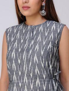 Simple Kurta Designs, New Kurti Designs, Kurta Designs Women, Kurti Designs Party Wear, Kalamkari Dresses, Ikkat Dresses, Feeding Dresses, Model Rok, Frock Models