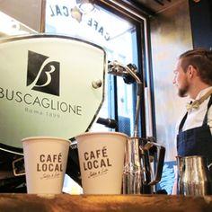CAFÉ LOCAL - A CUP OF SCOTCH & SODA COFFEE - Scotch & Soda