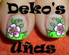 Uñas decoradas French Pedicure Designs, Toe Nail Designs, Pretty Toe Nails, Fun Nails, Pedicure Colors, Nail Colors, Summer Toe Designs, Cute Pedicures, Wedding Pedicure