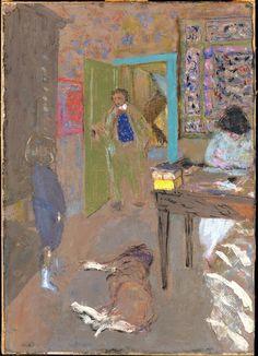 Interior at Saint-Jacut / Édouard Vuillard