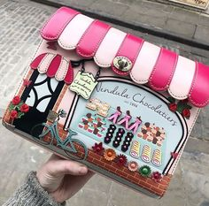 The festival season is here and wherever you're going the Tuk Tuk Pouch Bag will be by your side! Your essentials will be kept safe thanks to the zip closing and the detachable strap enables the bag to be used as a clutch, crossbody or as a makeup bag. Vegan Leather, Pu Leather, Happy Pug, Cat Cafe, Bag Design, Pouch Bag, Travel Style, Red And Pink, Hand Stitching