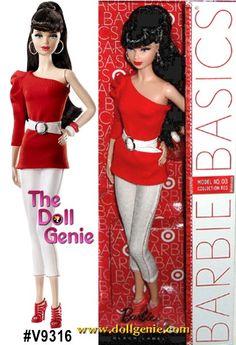 Great Deals on Barbie Dolls at the Doll Genie Barbie 2000, Barbie And Ken, Girl Dolls, Barbie Dolls, White Belt, White Denim, Barbie Basics, Long Ponytails, Vintage Barbie Clothes