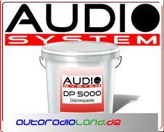 Audio System DP 5000 Dämuntermpaste 5kg (16€/kg) Dämmung im Autoradio Shop von Autoradioland unter http://www.autoradioland.de/de/Audio-System/Aud5000dp.html
