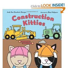 join the Construction Kitties for a busy day on the job. From sunup to sundown, these friendly felines work hard as they operate dump trucks, bulldozers, and backhoes. But it's not all work—a lunch break of sardines and milk hits the spot. Then it's back to the trucks to finish their grand construction. What will it be? A playground for kitties!  Show more   Show less