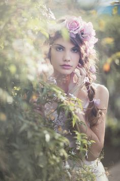 Spring Time Fantasy Photography at: http://www.pinterest.com/oddsouldesigns/springtime-soul/ #floral #portrait