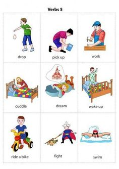 USE THIS SITE ! We offer you a growing collection of flashcards, worksheets, free coloring pages, an alphabet for teachers, parents and children. Learning English For Kids, English Lessons For Kids, English Language Learning, Speech And Language, Teaching English, Kids Learning, Greek Language, Kids English, English English