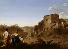 Poelenburgh, Cornelis van: Kylpeviä naisia