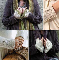 Как преобразить рукава: идеи для декора или реставрации - Ярмарка Мастеров - ручная работа, handmade