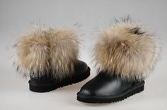 UGG Boots 5854 Foxfur Metallic Black AAA, FREE SHIPPING UGG Boots around the world, Kids UGG Boots, Womens UGG Boots, Girls UGG Boots, Mens UGG Boots, Boys UGG Boots, #WinterOutfit, #NewYearOutfit, #2014trends #BootsUggHub
