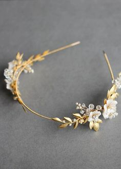 BESPOKE for Justyna_Dita Coco wedding crown headpiece 2