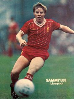 Sammy Lee Liverpool 1983