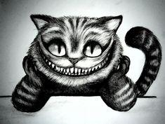 Cheshire cat tattoo idea