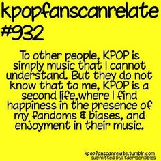 KPop Fans Can Relate #932: It's true! And some people just need to learn to understand that... ~~ <3