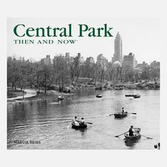 Central Park Then and Now, $18, now featured on Fab.