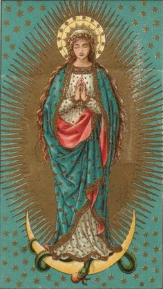 Our Lady Of Guadalupe. Blessed Mother Mary, Divine Mother, Blessed Virgin Mary, Virgin Mary Art, Religious Pictures, Religious Icons, Religious Art, Immaculée Conception, La Madone