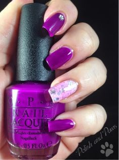 Polish and Paws: OPI ~ Push and Pur Pull