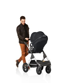 A trusted set of wheels for Dad too. Stokke Trailz stroller