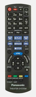 Panasonic Home Theater System N2QAYB000635 SC-BTT370 Remote Control This is an original remote control for Panasonic SC-BTT370 . PLEASE NOTE: In certain cases, you may receive a direct alternative supplied by the manufacturer. http://www.comparestoreprices.co.uk/december-2016-3/panasonic-home-theater-system-n2qayb000635-sc-btt370-remote-control.asp