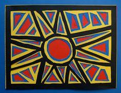 Mola (from Panama I assume) Tapas, Elementary Art Rooms, Cultural Crafts, 4th Grade Art, Inspiration Art, Ecole Art, Indigenous Art, Mexican Art, Aboriginal Art