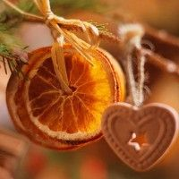 How to make homemade Christmas decorations with citrus fruits