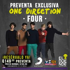 #ElDuende1D #Directioners #Four #OneDirection #Guatemala
