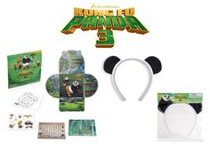 Kung Fu Panda 3 #Giveaway: $25 Gift Card, Activity Set & Headband #AD - Mommies with Cents