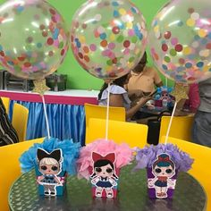 Birthday Party Centerpieces, Birthday Decorations, Spa Birthday Parties, Surprise Birthday, 5th Birthday, Doll Party, Bday Girl, Lol Dolls, Party Themes