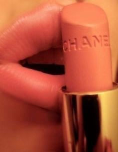 chanel coral lipstick.