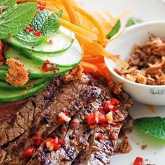 Vietnamese Beef Salad recipe, brought to you by MiNDFOOD.