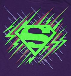 neon superman logos - Google Search